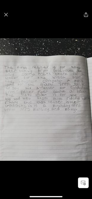 Brilliant writing Elsie.