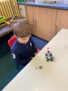 Toby's lego model