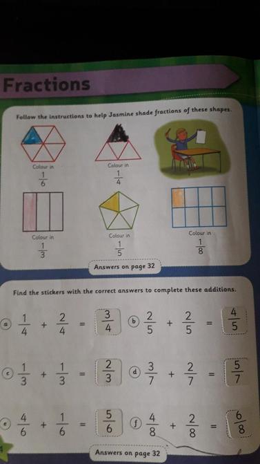 William's fractions work