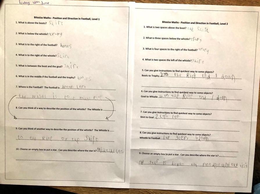 Great maths Sam!