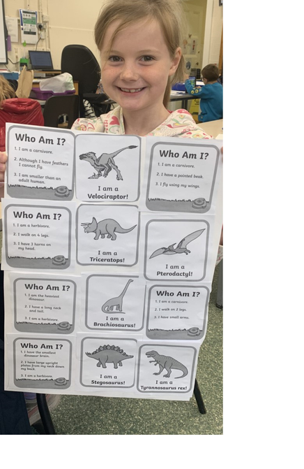 Lucy's dinosaur facts