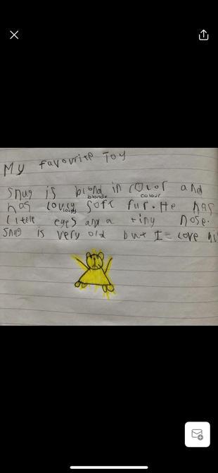 A lovely written piece from Sam.