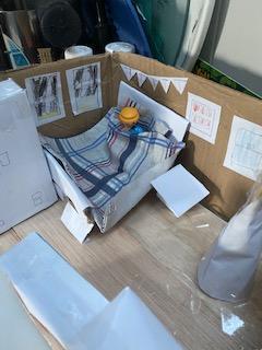 Toby's bedroom model