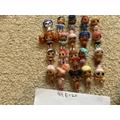 An array of dolls