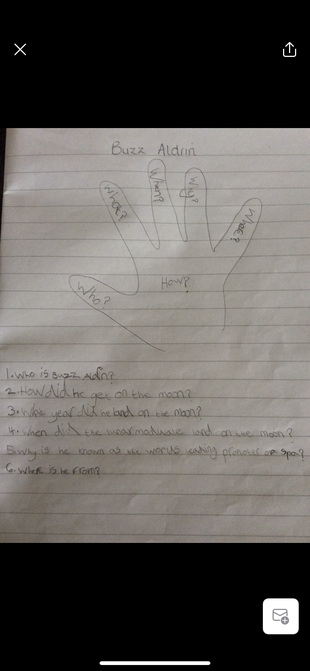 Harriet's great use of the question hand.