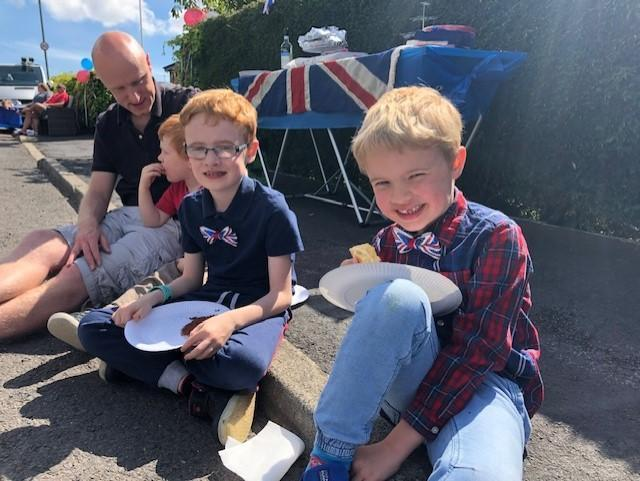 Jack's VE Day street party