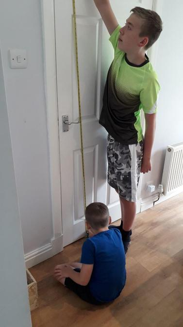 ...and had a helping hand when he couldn't reach!