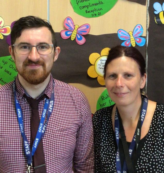 Mr Davies and Mrs Holt