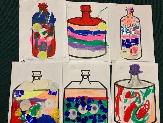 Look at our marvellous medicine bottles!