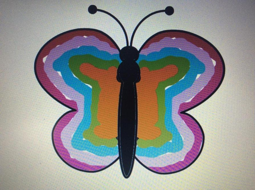 Harriet's beautiful butterfly