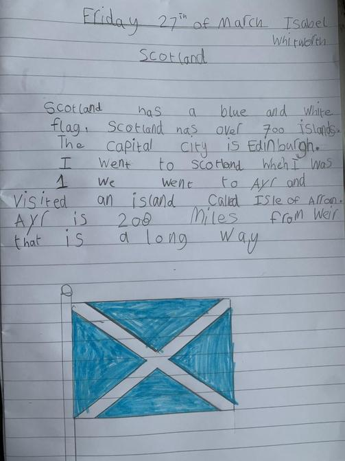 Super research about Scotland Isabel