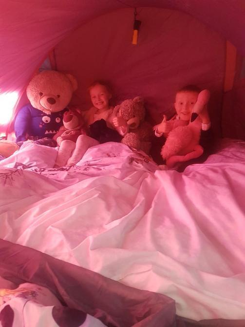 Camping fun...