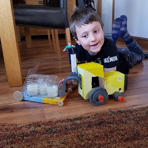 Edward's tractor