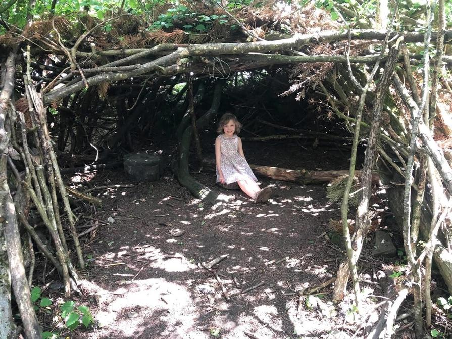 Alice found a den in the woods