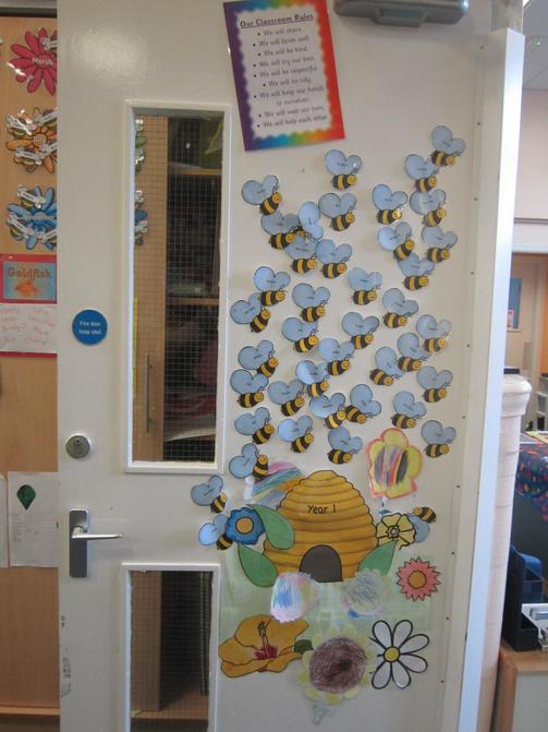 We are busy bees in Year 1