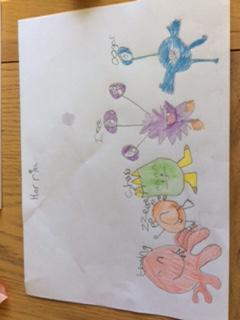 Mrs Ball's task - well done!