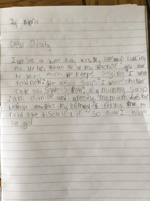 Jack's diary