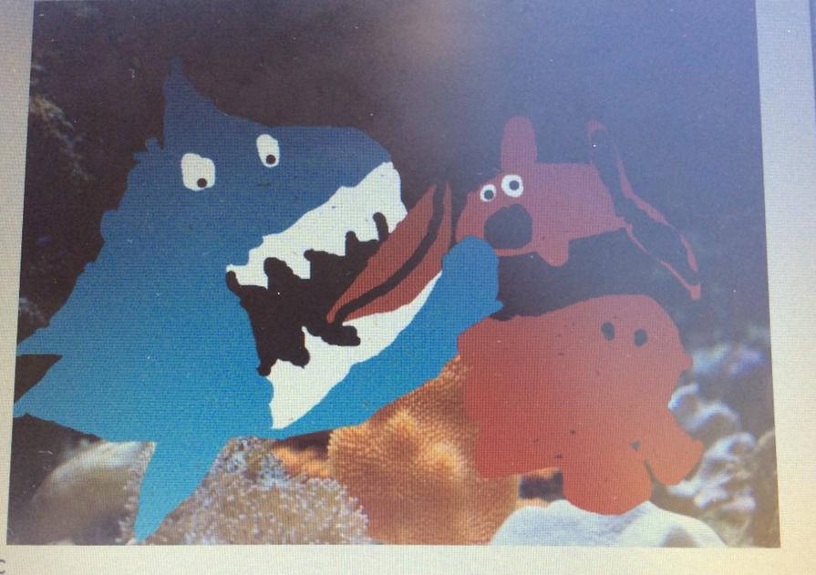 Harriet's fun fish tank!.