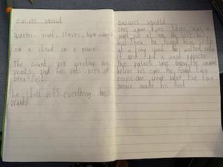 Toby's literacy