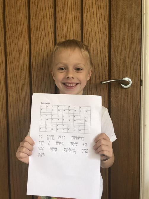 Luke seems happy with the challenge answer!
