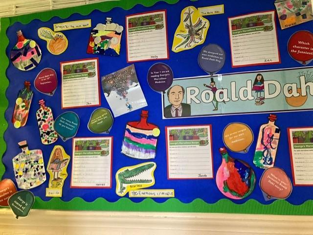 What a colourful collection of work!