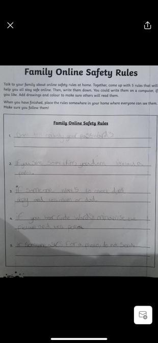 Online safety from Harriet.