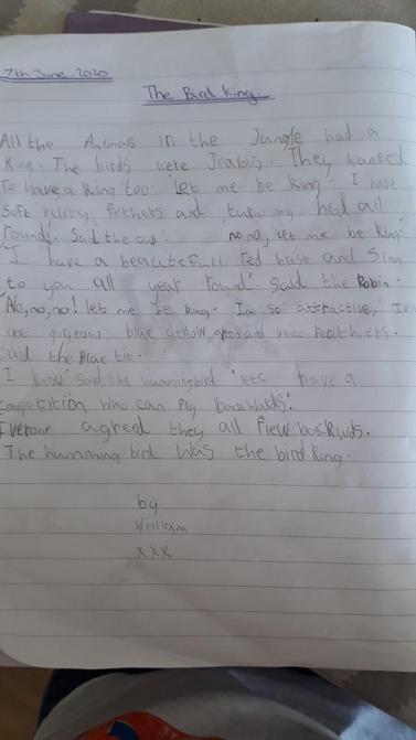 William's literacy
