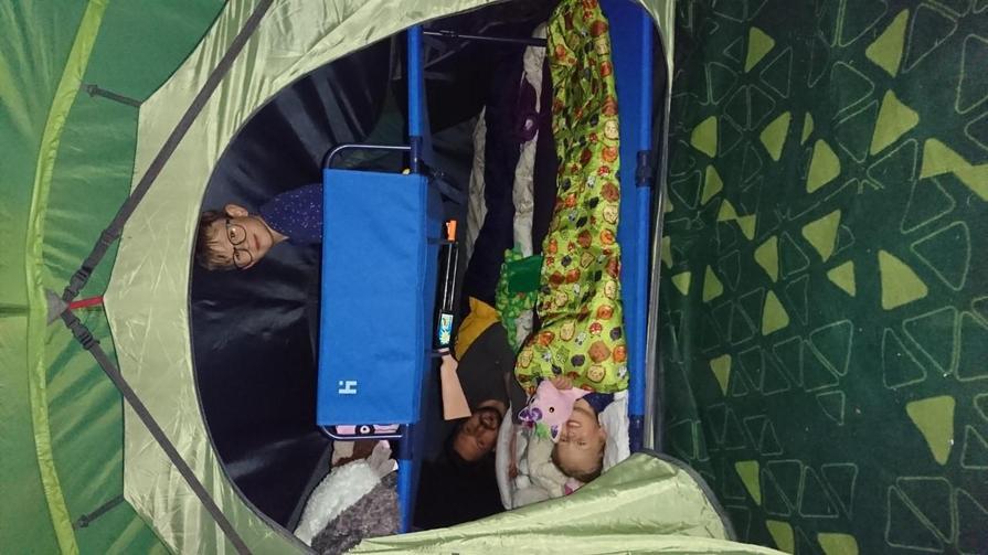 Eddie's weekend camp
