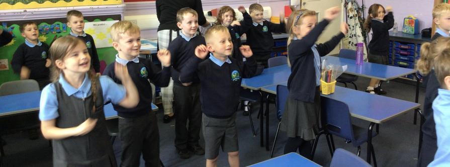 We had great fun dancing to number songs!