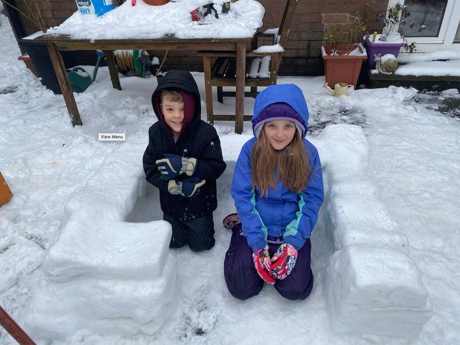 Great start to an igloo Ben!