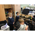 The children loved showing parents their class.