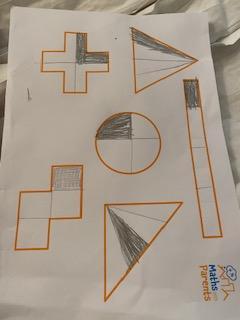 Toby's fraction work