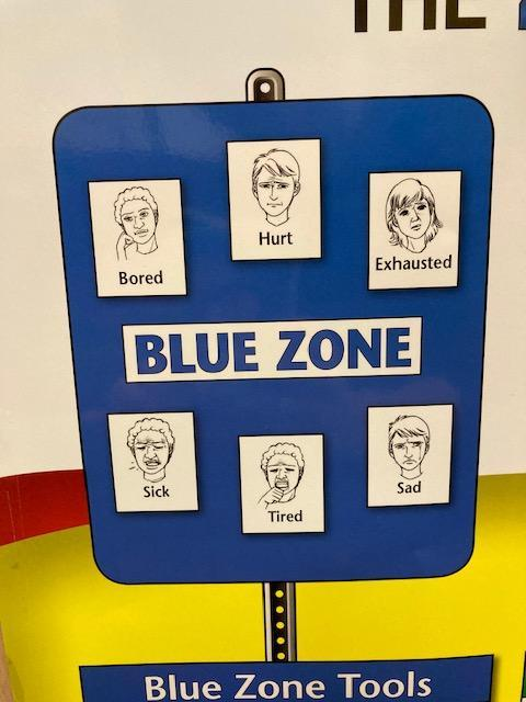 BLUE Zone can stop us from learning well.