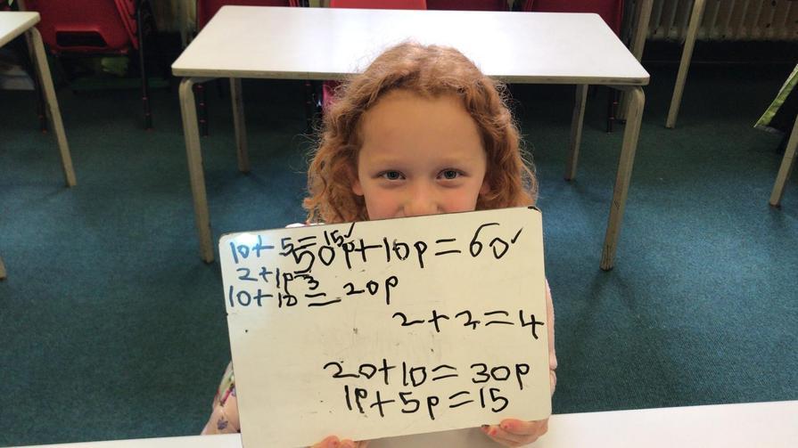 Ebony's maths.