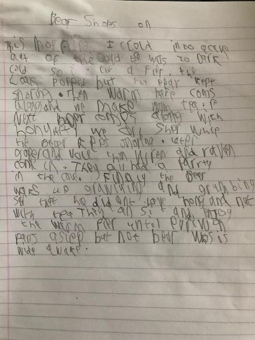 Sam's super writing too!