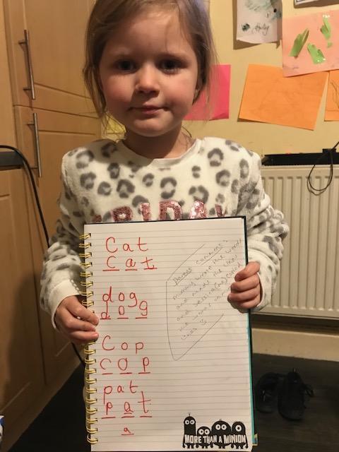 Super writing Jessica! Well done. ⭐️