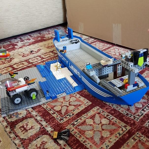 Edward's lego ship