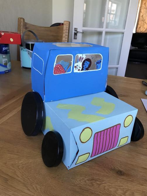 Ellie's tractor