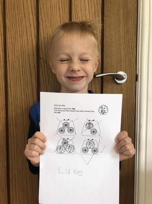 Luke's challenge work