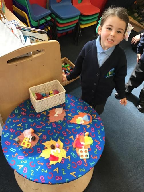 Investigating in our Maths Area