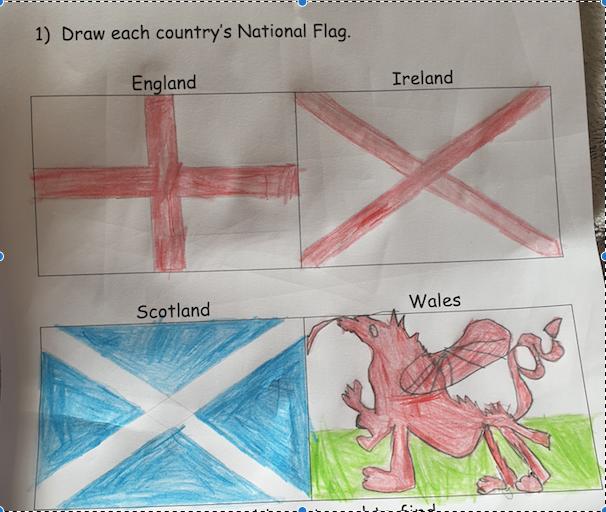 Great flag work Skylar!