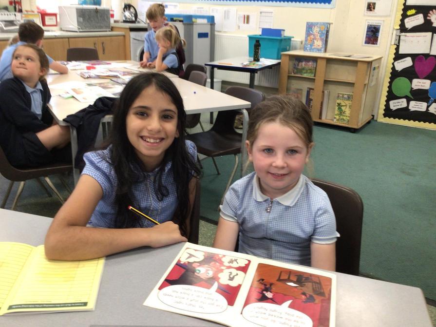 Yasmin and Harriet