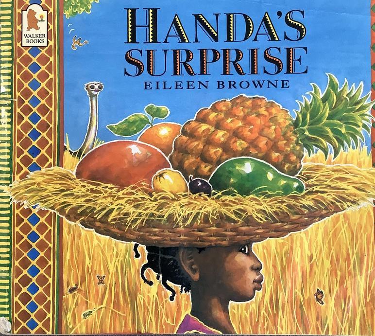 We enjoyed our story Handa's Surprise