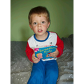 Charlie has read lots of books over the summer and achieved over 200 points