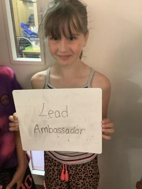 Say hello to our Lead Ambassador. -Y5