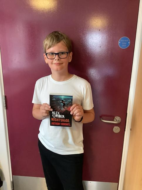 Well done for reading 1,000,000 words Jack. Great choice of book