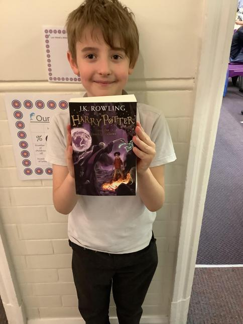 Wow! Jack has now read 2,000,000 words in Accelerated Reader