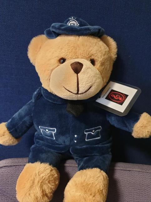 Bobby Bear - introduced to us by our local PCSO