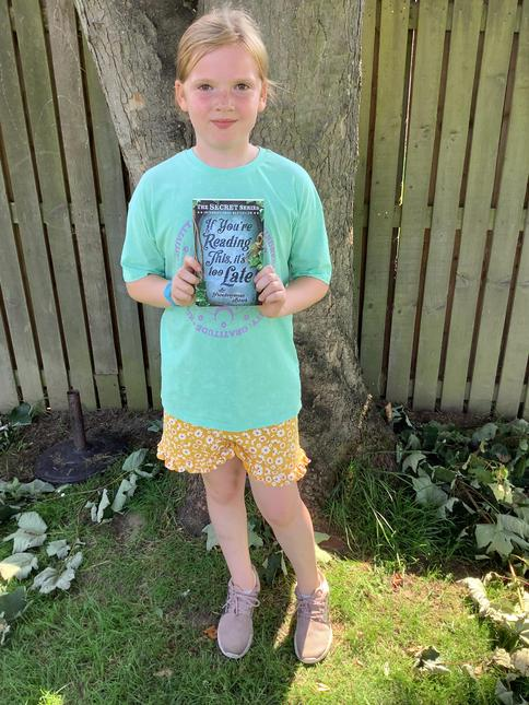 Well done for reading 1,000,000 words Annie