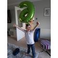 Hooray I'm 6!